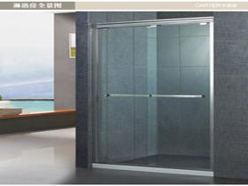 欧式简约一字型淋浴房