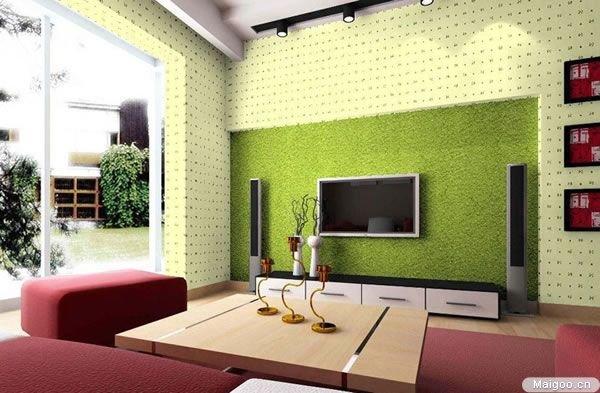 19款小清新个性 客厅电视背景墙效果图