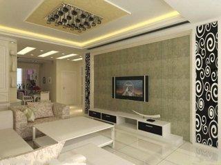 10款豪华大理石  电视背景墙效果图
