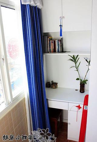 混搭风格一室一厅婚房平面图