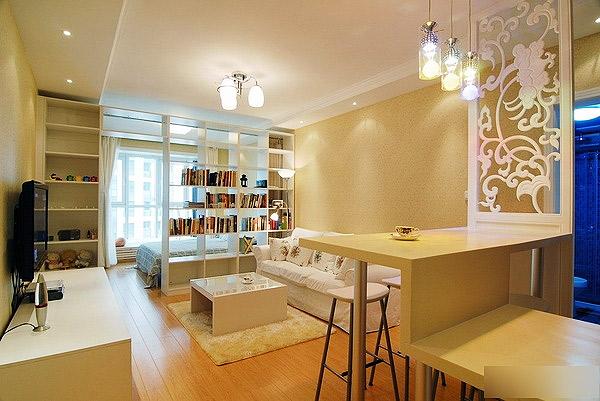 小清新,小户型装修,40平米装修,温馨,一室一厅装修
