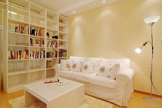 小户型小清新40平米客厅客厅隔断效果图