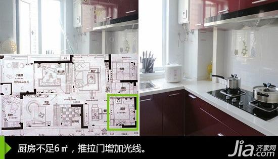 part 3:狭长型厨房 在小户型装修中,一些空间狭长的...