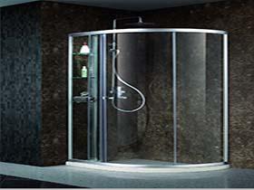 扇形淋浴房