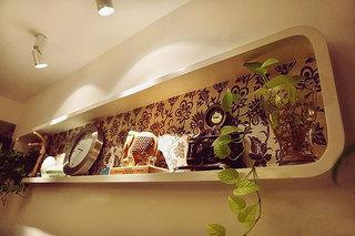 简约风格时尚黑白80平米婚房家装图