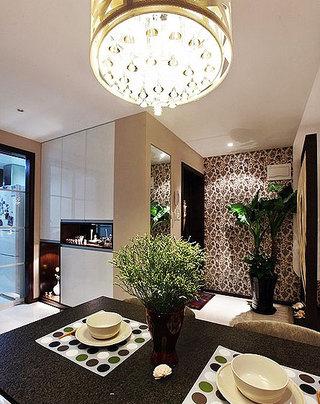 简约风格时尚黑白80平米婚房家装图片
