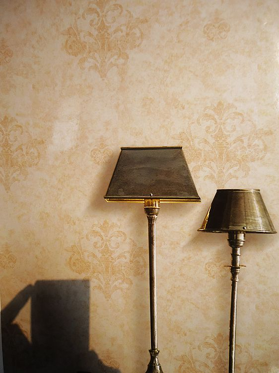 欧式印花客厅卧室壁纸