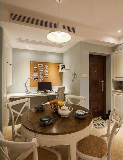 美式风格二居室温馨60平米餐厅装修效果图图片