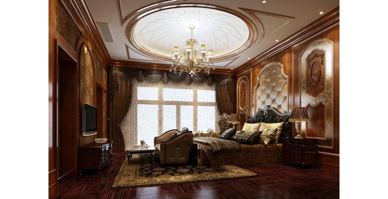 豪华型装修140平米以上美式别墅装修效果图,诸暨湘西.图片