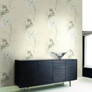 欧式新古典印花 客厅卧室壁纸