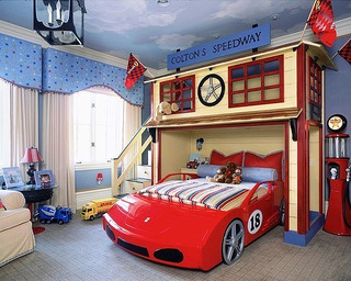 14款个性创意 儿童房装修效果图