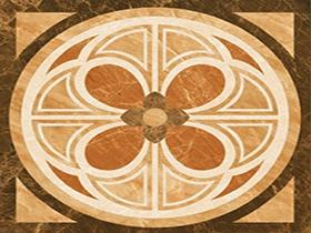 客厅门厅拼花瓷砖地板