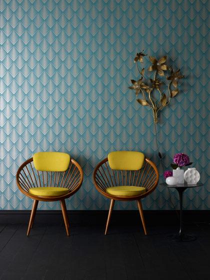 簡約現代素雅印花 客廳臥室壁紙