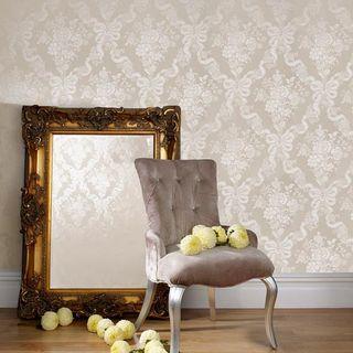 欧式压花图案环保无毒 客厅卧室壁纸
