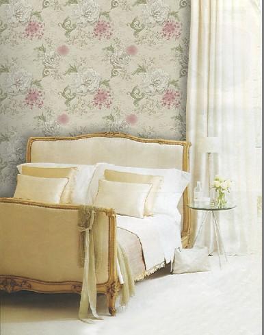 简约现代大花  客厅卧室壁纸