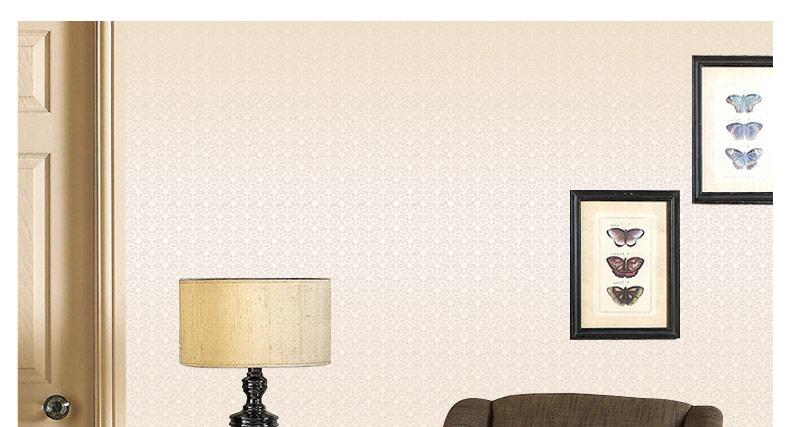 經典棱形格花紋 簡約臥室書房電視背景壁紙
