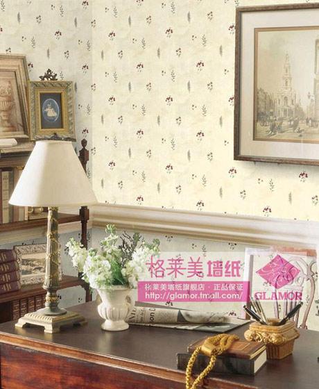 田园风情客厅卧室壁纸