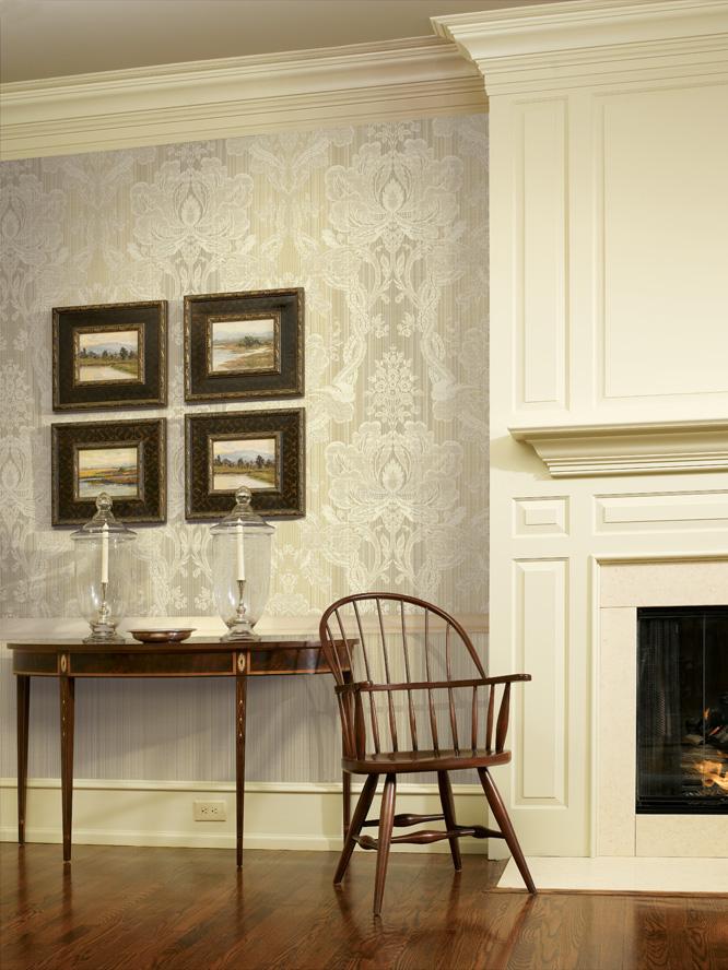 欧式新古典风格客厅卧室壁纸