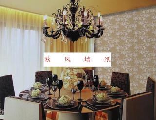 欧风简约现代 客厅卧室壁纸