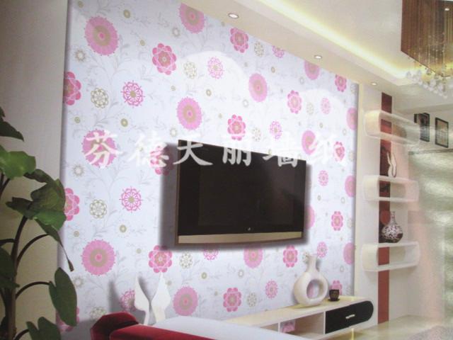 个性现代简约 卧室背景墙壁纸