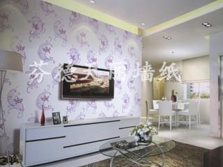 现代简约几何图案压花 客厅卧室背景墙壁纸