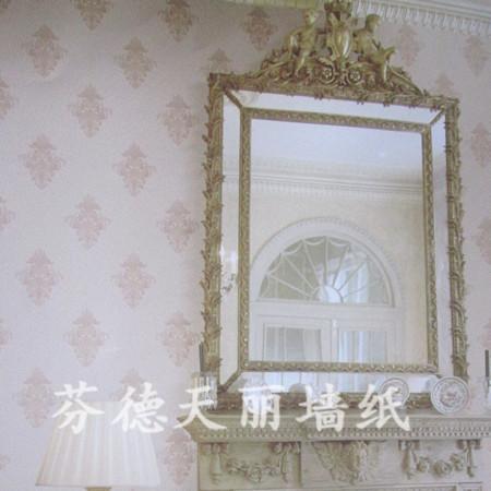简欧风格几何图案 客厅卧室壁纸
