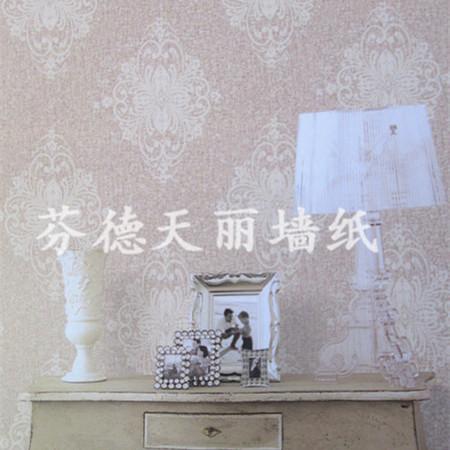 简欧立体感超强墙纸 客厅卧室背景墙壁纸