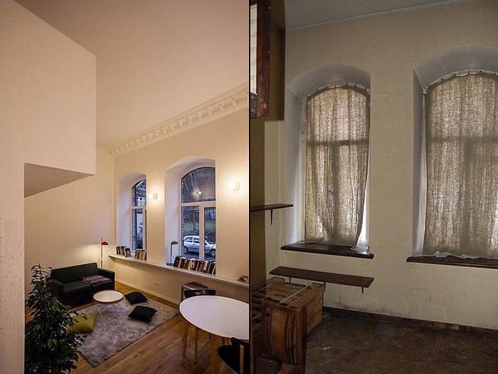 簡約時尚小復式 24平米單身公寓