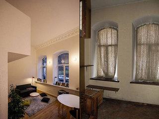 简约时尚小复式 24平米单身公寓