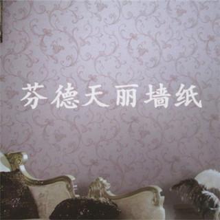 无纺布现代简欧风格墙纸 卧室客厅壁纸