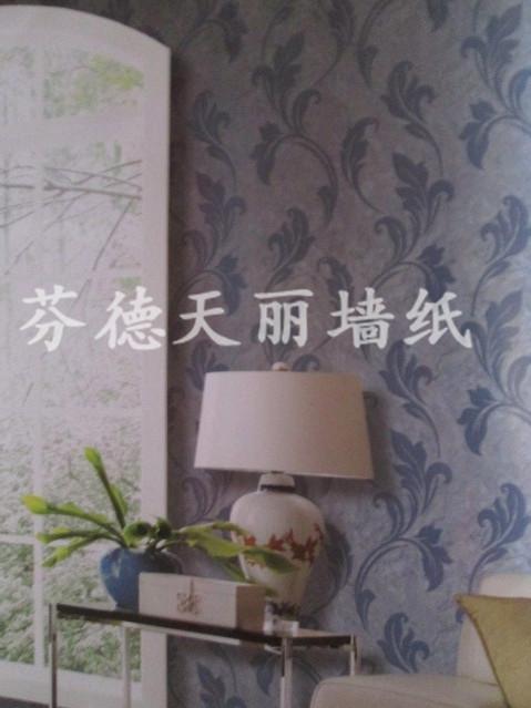 深壓紋立體簡約款式墻紙 電視床頭背景墻壁紙