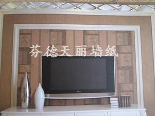深压纹现代简欧风格墙纸 客厅卧室背景墙壁纸
