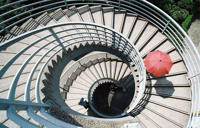 壯麗雄偉新時尚 14款旋轉樓梯圖例