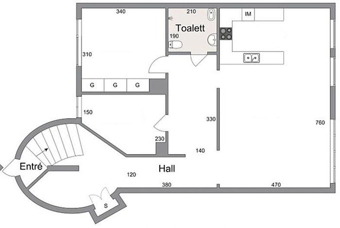 北欧风格公寓户型图