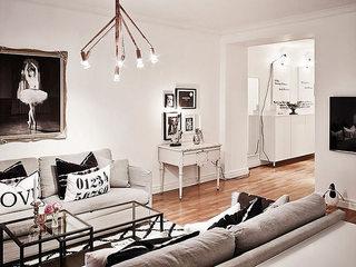 北欧风格公寓装潢