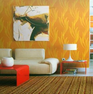 欧式小水波草图片 客厅卧室壁纸