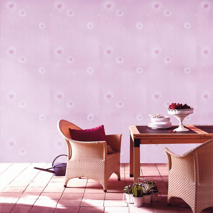 蒲公英花朵清晰田园简约墙纸 客厅卧室壁纸