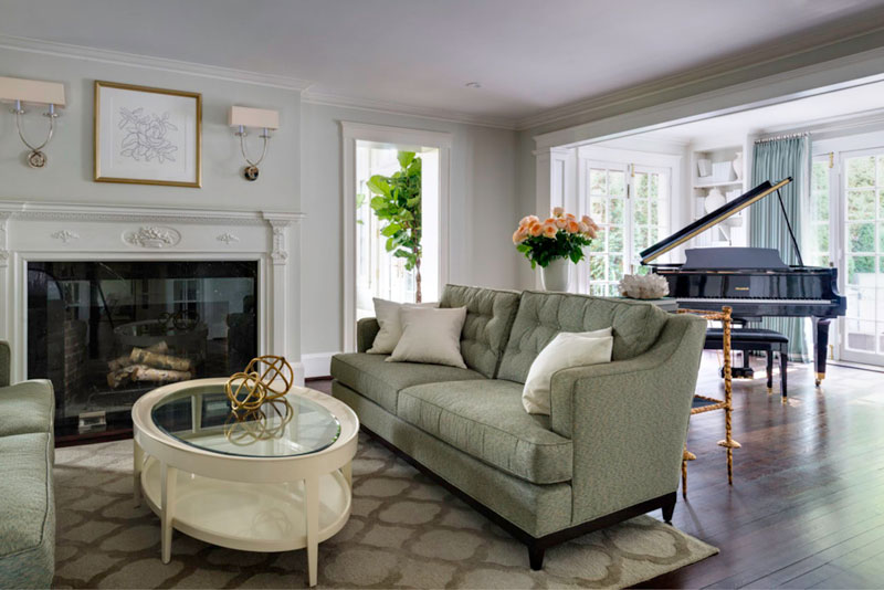 法式风格大户型客厅装修图片图片