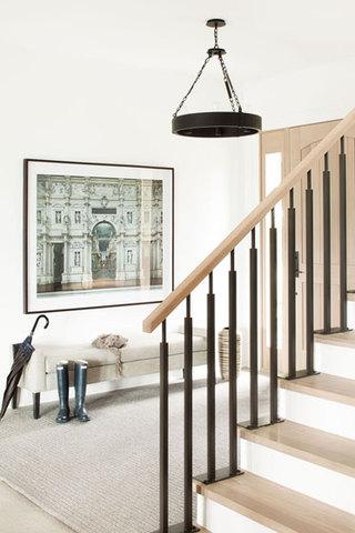 欧式田园风格欧式别墅门厅设计图纸