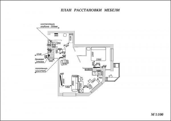 现代简约风格单身公寓时尚户型图