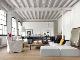 白色设计 西班牙170平米简约阁楼