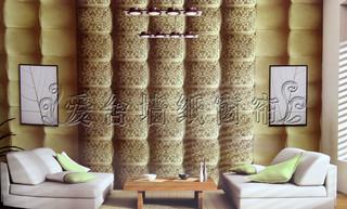 欧式典雅客厅卧室壁纸