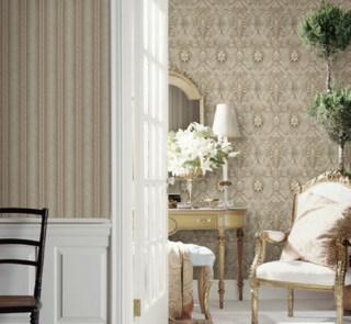 欧式复古怀旧  客厅书房卧室壁纸