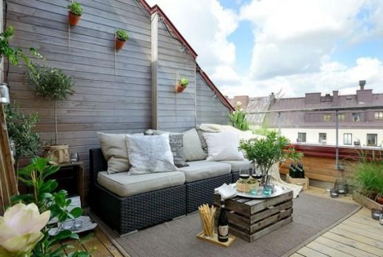 for Para desarrollar su apartamento con terraza