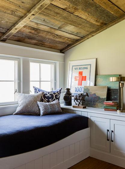 田园风格小清新暖色调卧室装修图片