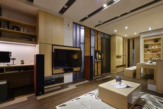 新古典风格时尚电视背景墙婚房家装图