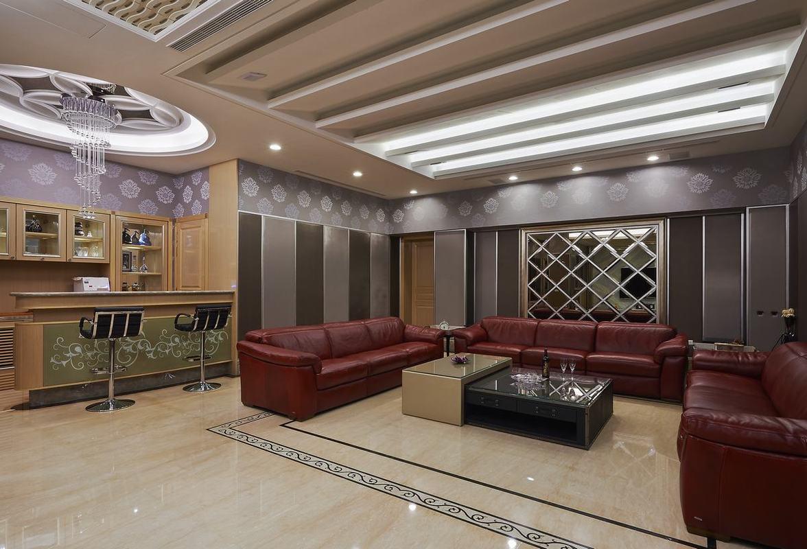 欧式风格别墅豪华客厅装修