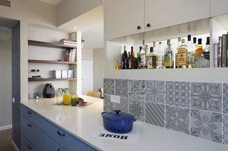 现代简约风格公寓古典蓝色婴儿房效果图
