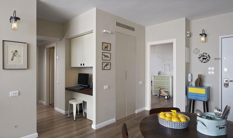 適合溫馨家庭的簡約迷人公寓