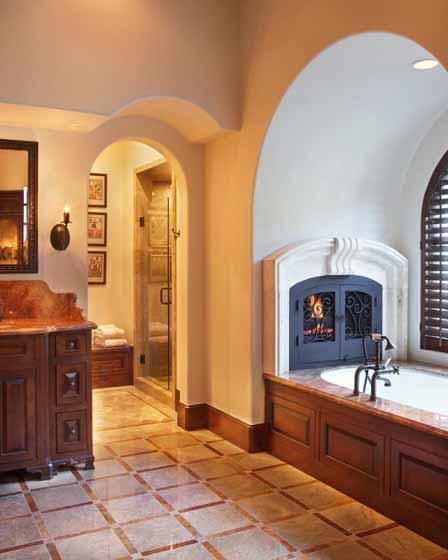 欧式风格别墅奢华卫生间装修图片